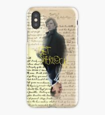 get sherlock iPhone Case/Skin