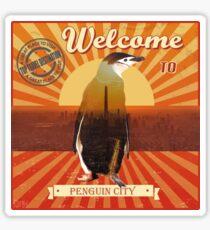 Penguin City  Sticker