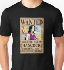 -ONE PIECE- Boa Hancock Wanted T-Shirt
