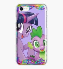 my little pony twilight and spike iPhone Case/Skin