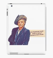 No Englishman iPad Case/Skin