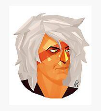 Jasper Geometric Portrait Photographic Print