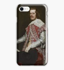 Portrait of King Philip IV of Spain 1644  Diego Velázquez iPhone Case/Skin