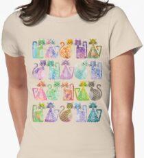 Geometricats - Pastel Colours T-Shirt