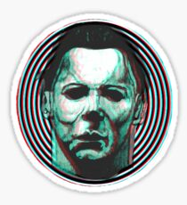 MICHAEL MYERS HALLOWEEN 3D Sticker