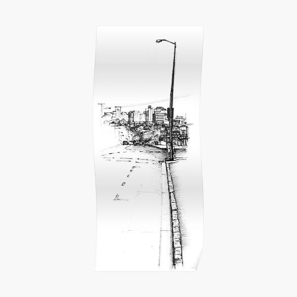 Paddington Streetscape Poster