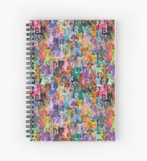 Pussies Galore 1 Spiral Notebook