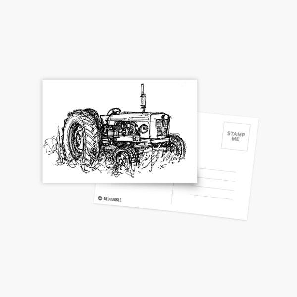 David Brown Tractor Postcard