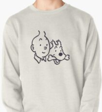 Tintin And Milou Merchandise Pullover