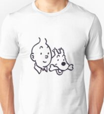 Tintin And Milou Merchandise T-Shirt