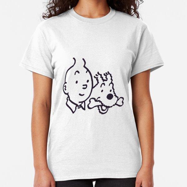 Tintin And Milou Classic T-Shirt
