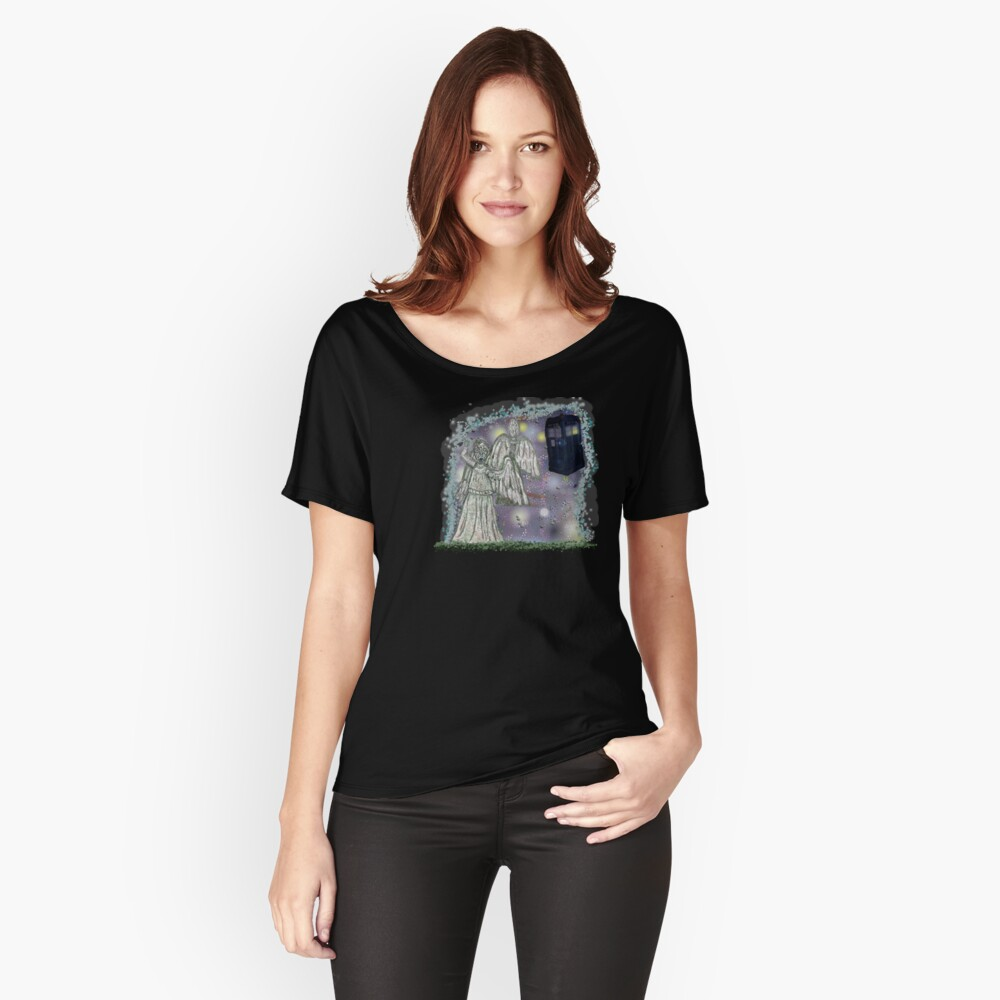 Don't blink weeping angels Women's Relaxed Fit T-Shirt Front