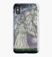 Don't blink weeping angels iPhone Case/Skin