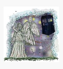 Don't blink weeping angels Photographic Print