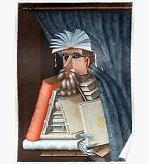Giuseppe Arcimboldo The Librarian Poster