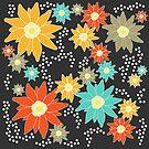 edelweiss mountain flowers von joannazoelzer