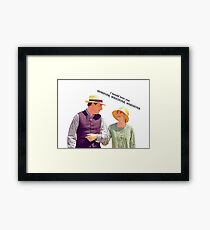 However, Whatever, Whenever Framed Print
