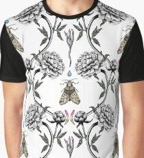 White peony garden Graphic T-Shirt