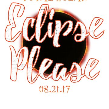 Total Solar Eclipse August 21, 2017 Funny Cool Summer Gift Tee by arnaldog