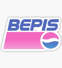 Bepis Aesthetic  Sticker