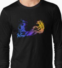 Final Fantasy X - Coloured Logo Long Sleeve T-Shirt