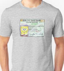 Spongebob Squarepants Driver's License T-Shirt