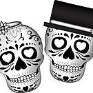Mr. & Mrs. Day of the Dead by sebi01