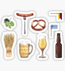 Watercolor octoberfest collection Sticker