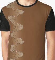 Hippoline - Coffee Graphic T-Shirt