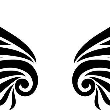 Tribal wings by ravendean