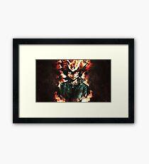 Tsunayoshi Sawada - Katekyo Hitman Reborn! Framed Print