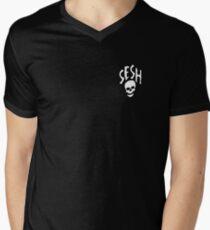 SESHSKULL Shirt Men's V-Neck T-Shirt