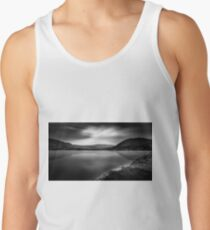 Cloud phoenix Black and White Tank Top