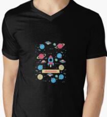 CASEWORKER Men's V-Neck T-Shirt