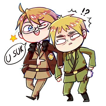 aph usuk America making laugh of England by N-World