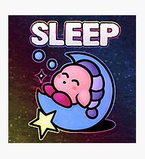 Kirby Sleep Photographic Print