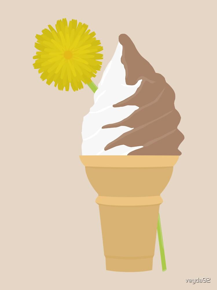 Dandelion's Chocolate and Vanilla Swirl | Unisex T-Shirt