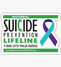 Suicide Prevention Lifeline Sticker