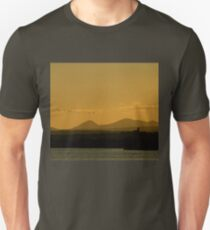 Geese over Derryveagh mountains at Twilight T-Shirt