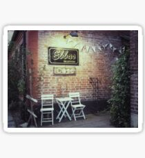 Ebbas Cafe Sticker