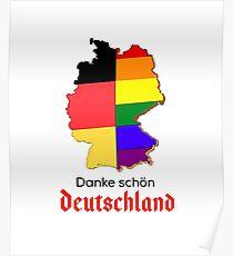 Gay Pride, LGBT Germany Poster