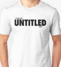 Untitled Cat Fund (Black) T-Shirt