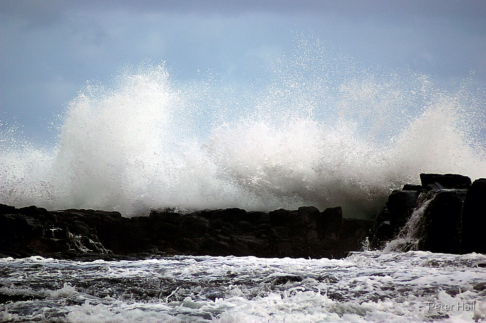 Crashing Wave, Bushranger Bay, Victoria by Peter Hall