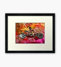 Machine Ghost Rider Framed Print