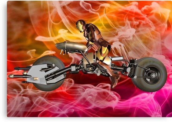 Machine Ghost Rider by Icarusismart