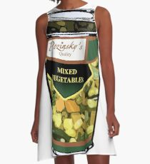 Pozinsky's Vegetables (Mixed)  A-Line Dress