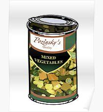 Pozinsky's Vegetables (Mixed)  Poster