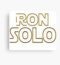 Ron Solo Canvas Print