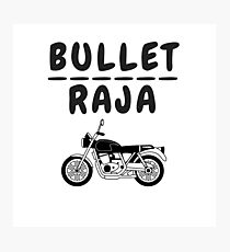 bullet raja Photographic Print