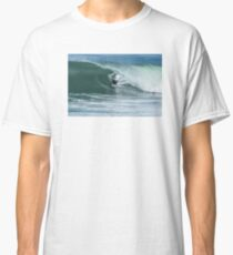 Bodyboarder in action Classic T-Shirt